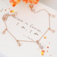 Jewelry Cute Shiny Sexy Ladies New Arrival Gift Diamonds Stylish Strong Character Chain Anklet [6048621441]