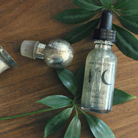 STARLIGHT . Vegan Body Oil. Silver Grey Perfumed Body Oil - Earth Aura Collection // Starlight