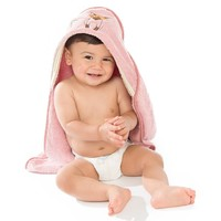 Woodland Animals: Baby Organic Cotton Towel