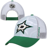 Dallas Stars Reebok 2014 NHL Draft Adjustable Hat – White