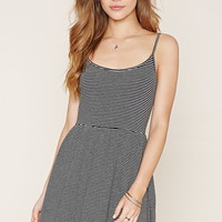 Striped Knit Cami Dress