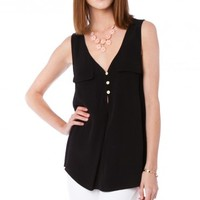 KINA TANK IN BLACK