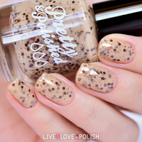 Pretty & Polished Cookie Monster Nail Polish (Dessert for Nails Collection)