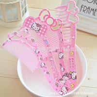 new arrival cute cartoon plastic kids children hair brush girls hairbrush high quality hair comb girls hairdresser 2pcs/lot