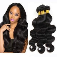 3 Bundles Body Wave Virgin Malaysian Hair