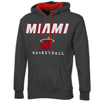 Miami Heat Exclusive MVP Hoodie – Charcoal