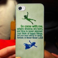 Peter Pan Quotes 50L4RI5 iPhone Case And Samsung Galaxy Case