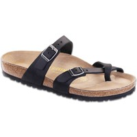 Birkenstock Women's Mayari (R) Black Oiled Sandals