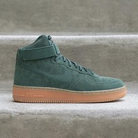 spbest NIKE - Men - Air Force 1 High - Green/Gum