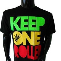Keep One Rolled Marijuana 420 Pot Blunt Dank Weed Smoker Funny Men's T-Shirt
