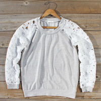 Canyon Lace Sweatshirt