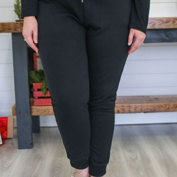 Homebody Joggers + Black