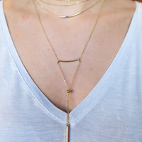 Unstoppable Layer Necklace