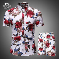 Men Clothes Set Summer