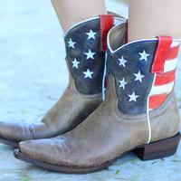 ROPER: AMERICAN HONEY SHORT COWBOY BOOTS