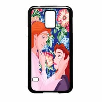 Beauty And The Beast Floral Samsung Galaxy S5 Case