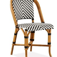 Parisian Bistro Woven Side Chair