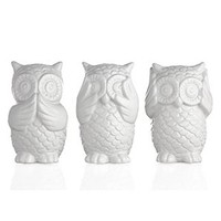 3 Wise Owls | Decorative Accessories | Home Accents | Decor | Z Gallerie