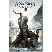 """Assassin's Creed III - Gaming Poster (Game Cover) (Size: 24"""" x 36"""")"""