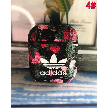 Adidas Hot Sale iPhone Airpods Headphone Case Wireless Bluetooth Headphone Protector Case(No Headphones) 4#