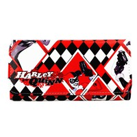 New Women Long Wallet Suicide Squad Harley Quinn Wallet HASP Phone Pocket With Card Holder