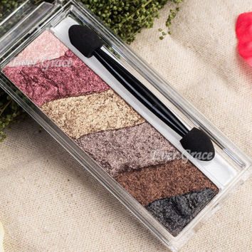 Nude Warm Color Makeup Rubik Cube Puzzles Bake Baked Eyeshadow Smoky Eye Shadow