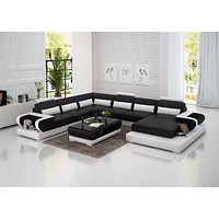 Luxury Modern High quality leather sofa for living room