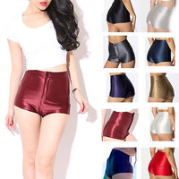 70's Shiny Sateen Hot Pants - 8 Colors - In The Style of...