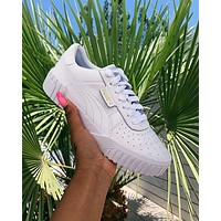 PUMA Cali Wns casual platform shoes white shoes