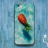 iPhone 4 4s 5 5s 5c 6 6s plus iPod Touch 4th 5th Generation Custom Cool Beach Ocean Pool Pineapple Water Cover Cute Summer Spring Fall Case