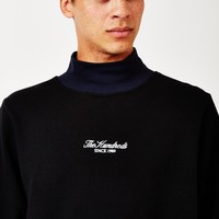 The Hundreds Wilshire Turtle Neck Jumper Black