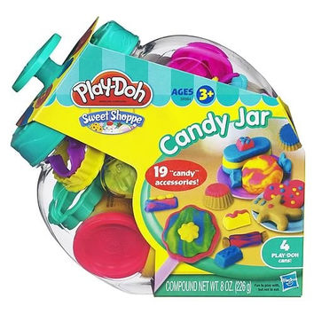 PLAY-DOH CANDY JAR COMPLETE PLAY SET