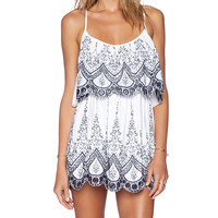 Raga Sweet Embrace Mini Dress in White
