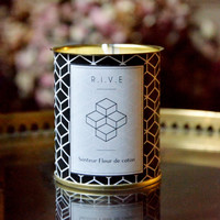 Candle chart black pattern to the soy wax by RIVEinspirations