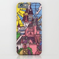 The Enchanted Castle iPhone & iPod Case by Studiomarshallarts