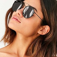Ray-Ban Icon Round Bridge Sunglasses | Urban Outfitters