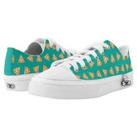 Fun Pizza Slices Pattern Printed Shoes