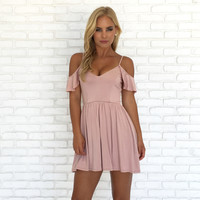 Blushing Beauty Jersey Dress