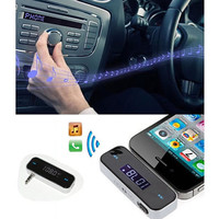MUSIC BROADCASTER by SmarTech - Wireless FM Transmitter Play your music in the Car radio from your phone