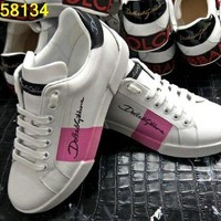 Dolce & Gabbana ladies fashion casual shoes lovers DCCK
