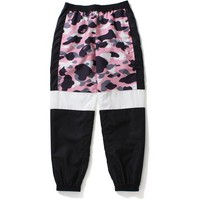 WARM UP CAMO TRACK PANTS LADIES