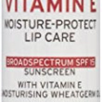The Body Shop Vitamin E Lip Care Stick SPF 15, 0.14 Ounce (Packaging May Vary)