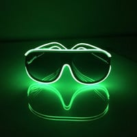 Glow Aviator Shades