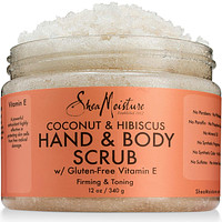 SheaMoisture Coconut & Hibiscus Hand & Body Scrub 12 oz
