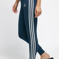 adidas Navy 3-Stripes Leggings at PacSun.com - navy | PacSun