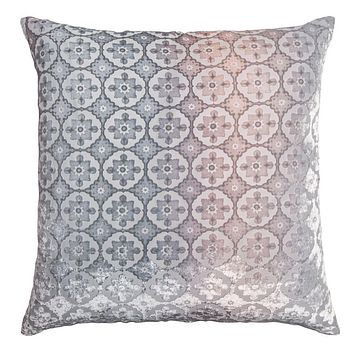 Small Moroccan Moonstone Velvet Pillow by Kevin O'Brien Studio