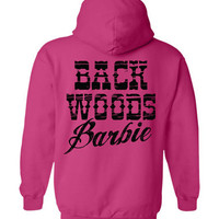 Women's Back Woods Barbie Hoodie