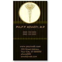 Medical Practice With Appoitment Business Cards from Zazzle.com