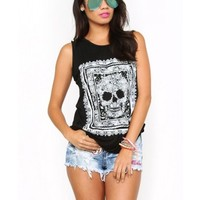 Uplifted Skull Muscle Tank