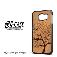 Wood Floral For Samsung Galaxy S6 Samsung Galaxy S6 Edge Samsung Galaxy S6 Edge Plus Case Phone Case Gift Present YO